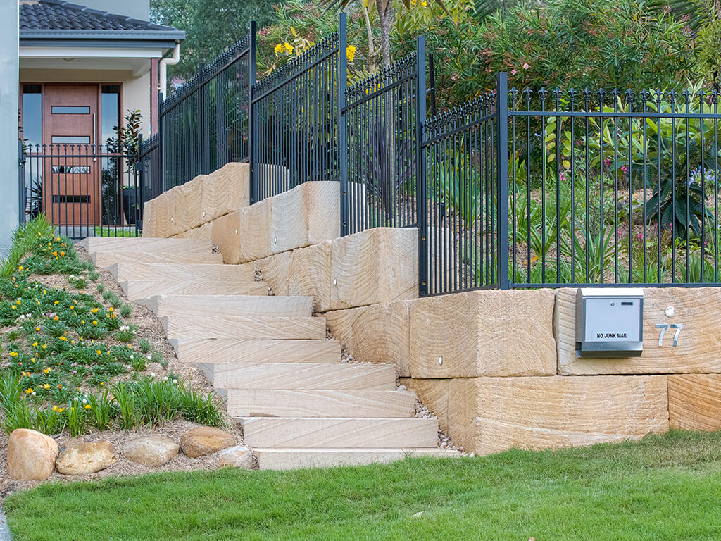 Rock and Boulder Retaining Walls